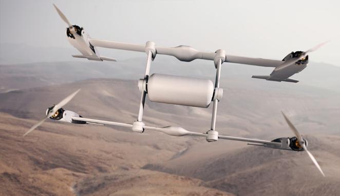 设计精巧:贝尔公司发布新款物流无人机